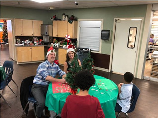 CCIM Christmas Party at Family Gateway Homeless Shelter