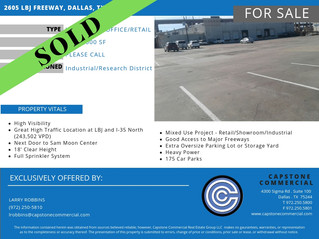 SOLD - 2605 LBJ Freeway, Dallas