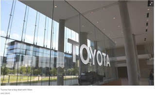 Toyota's Plano operations will be involved in deal with Uber