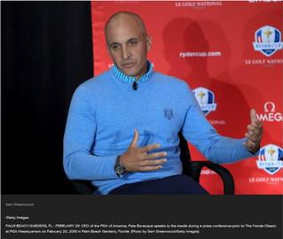 PGA of America CEO Pete Bevacqua acknowledges organization's potential move to Frisco: 'It&#