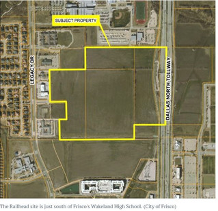 $1.5 billion Frisco mixed-use project, Railhead, proposes offices and up to 1,200 housing units