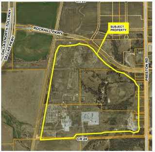 Frisco P&Z approve amend future land use plan for possible industrial park