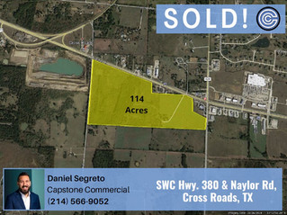 Done Deal - US 380 & Naylor Road, Cross Roads