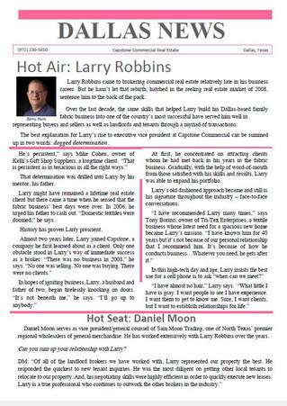 Hot Air: Larry Robbins