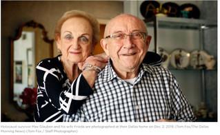 The Dallas Morning News Texan of the Year 2019: Holocaust survivor Max Glauben.  Max Glauben survive