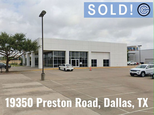 Sold - 19350 Preston Road, Dallas, TX 75252