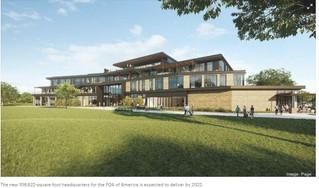 Work begins on PGA of America headquarters building in Frisco