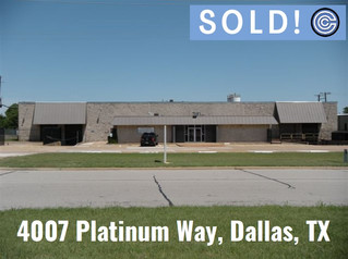 Done Deal - 4007 Platinum Way, Dallas