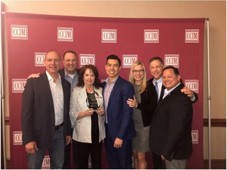 The CCIM North Texas Chapter won an award at the spring conference