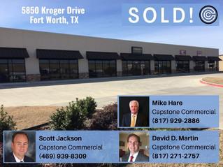 Sold - 5850 Kroger Drive, Fort Worth
