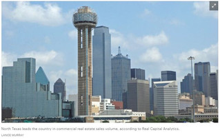 Dallas-Fort Worth dethrones Manhattan as nation's top CRE investment market, new report says