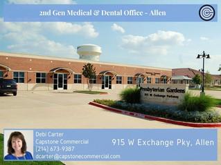 For Lease - 2nd Generation Medical in Allen