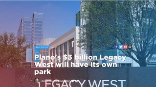 Plano's $3 billion Legacy West will have its own park