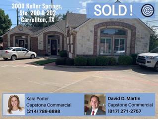 Sold - 3000 Keller Springs, Ste. 200 & 202, Carrollton