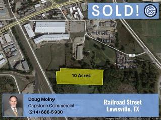 Sold - Railroad Street, Lewisville