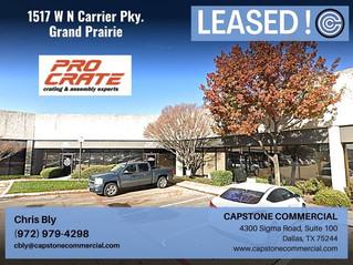 Leased - 1517 W N Carrier Parkway, Grand Prairie