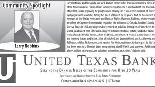 Community Spotlight - Larry Robbins