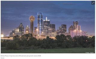 North Texas tops Forbes' best cities for jobs