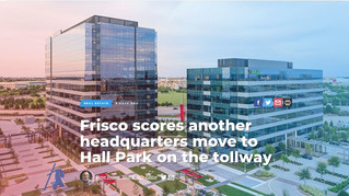 Frisco scores another headquarters move to Hall Park on the tollway