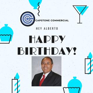 Happy Birthday Alberto!