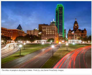 Dallas moves in as one of most popular relocation destinations in U.S.