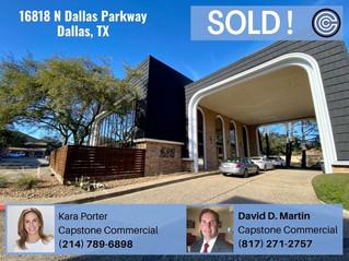 Sold = 16818 N Dallas Parkway, Dallas