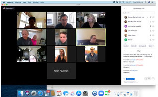 "Mission Marketplace Bible Study Zoom Meeting - ""After the Victory!"""
