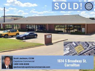 Sold - 1614 S Broadway Street, Carrollton