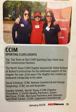 CCIM Clays Sporting Event
