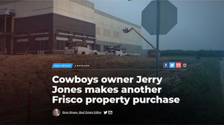 Cowboys owner Jerry Jones makes another Frisco property purchase