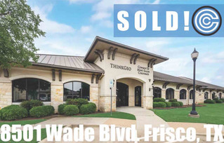 SOLD - 8501 Wade Blvd., Frisco