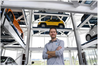 A vending machine that dispenses cars opens for business in Frisco (Video)