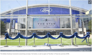 Dallas Cowboys to kick off coworking concept this summer