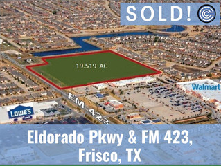 Done Deal - Eldorado Pkwy & FM 423, Frisco