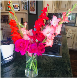 Beautiful flowers from Debi's garden