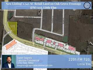 New Land Listing in Little Elm