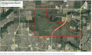 Hunt Realty buys 2,500-acre ranch in Frisco for master-planned development