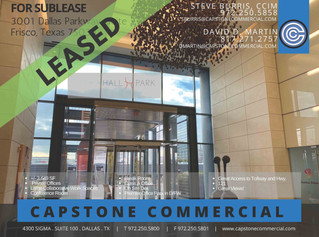 LEASED - 3001 Dallas Parkway, Suite 210, Frisco