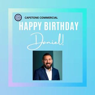 Happy Birthday Daniel!
