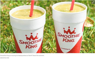 Smoothie King to relocate its headquarters to North Texas this summer