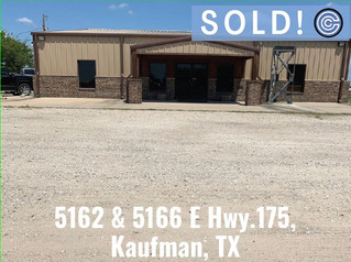 SOLD - 5162 & 5166 E Hwy. 175, Kaufman, TX 75142 by Scott Jackson and David D. Martin