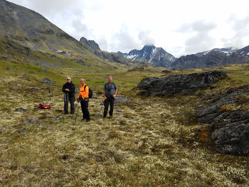 ALASKA HELI-CAMPING & ALPINE HIKING...oh, and lots of alcohol. PT: 2 of 2