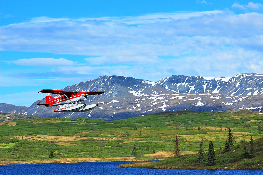 Leave your toubles in town because as you step off the float plane your vacation is in full swing
