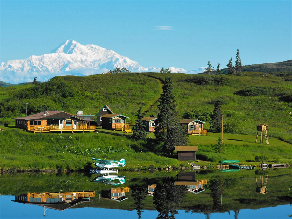 Wilderness Lodging with rustic cabins near Denali Park
