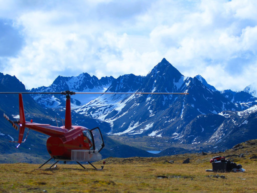 ALASKA HELI-CAMPING & ALPINE HIKING...oh, and lots of alcohol. PT: 1 of 2