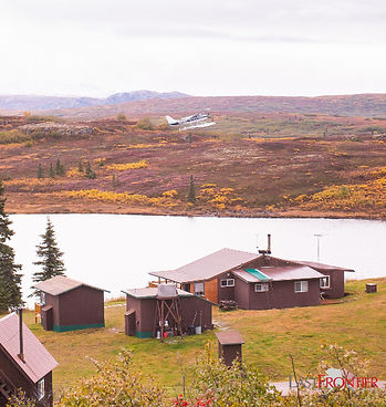Caribou Lodge Alaska is an ecotourism destination with rustic cabins overlooking our lake. We offer guided hiking, camping, kayaking, fishing, wildlife viewing, and all-inclusive lodging.
