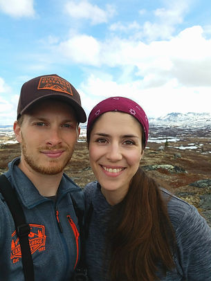 Zac and Alyssa own and operate Caribou Lodge Alaska while raising their daughters, hiking in the talkeetna mountains, lodging near Talkeetna, wilderness lodge close to Denali