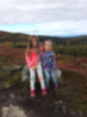 Chloe and Eiley are the youngest lodge kids in Alaska, A family lodge near Talkeetna, hiking, kayaking, camping, wilderness lodge near Talkeetna, hiking near Denali