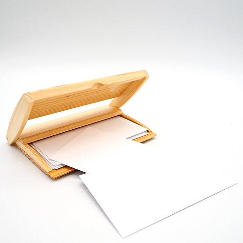 檜木卡片盒