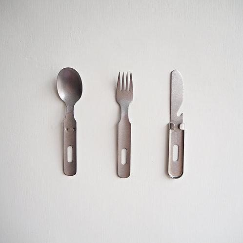 不銹鋼自攜餐具